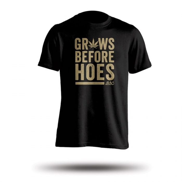 Grows before Hoes - Black | Cannabis seeds